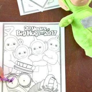 Entertaining Preschoolers on Road Trips with Teletubbies + Giveaway