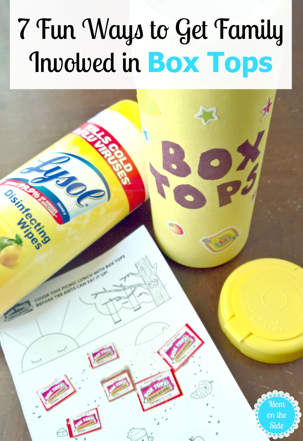 Getting Family Involved with Box Tops