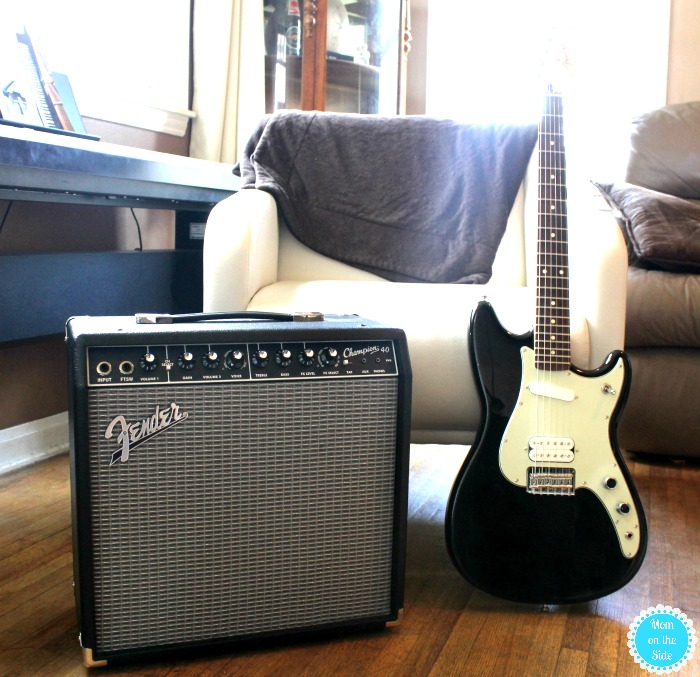 Everything Teens Need to Learn Guitar at Home including a place to play