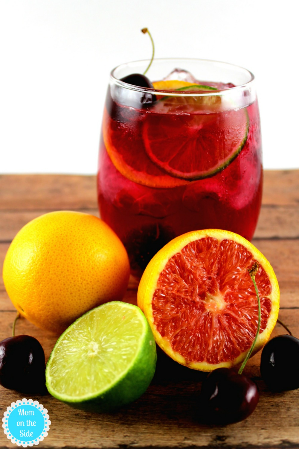 Delicious Cherry Citrus Sangria Recipe | Mom on the Side