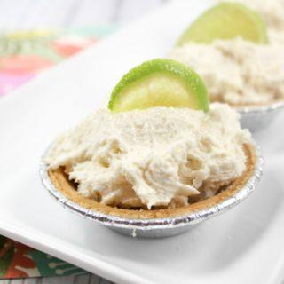 Margarita Cake Mix Mini Pies