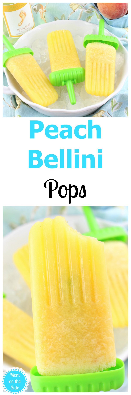 Deliciously easy Peach Bellini Pops Recipe