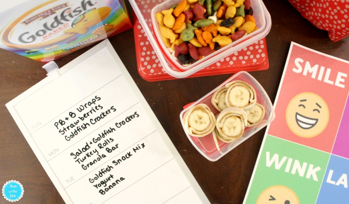 Back to School Preschool Lunches
