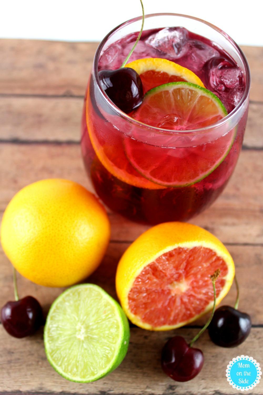 Delicious Sangria Recipe for Cherry Citrus Sangria
