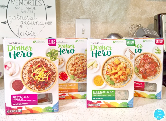 Convenient Healthy Meals with Revolution Foods Dinner Heroes
