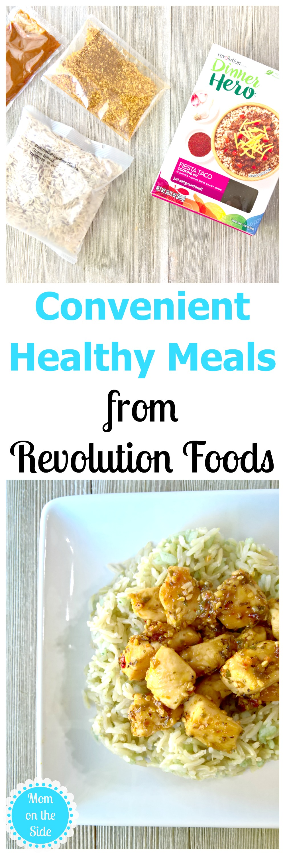 A Variety of Convenient Healthy Meals with Revolution Foods