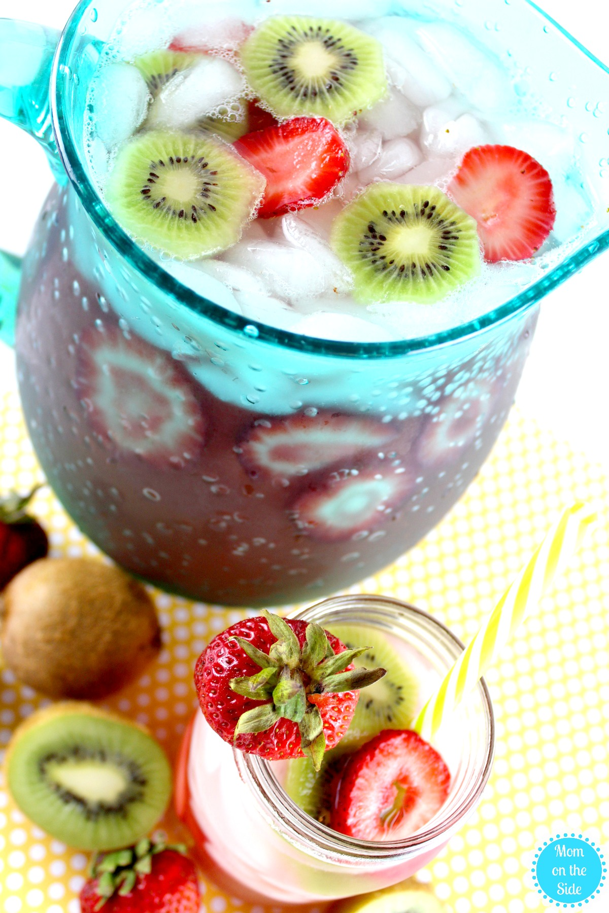 White Wine Sangria Recipe: Strawberry Kiwi Sangria