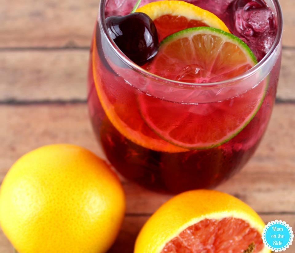 Delicious Cherry Citrus Sangria Recipe