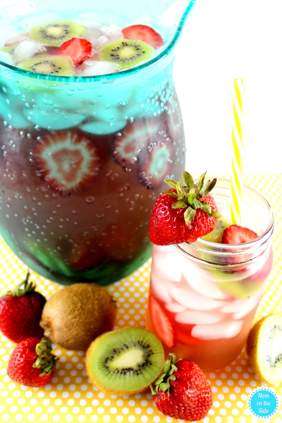 Easy Sangria Recipe for Strawberry Kiwi Sangria