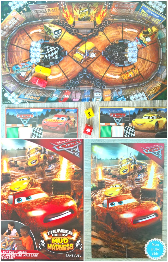 Playing Spin Master Cars Game After Watching Cars 3