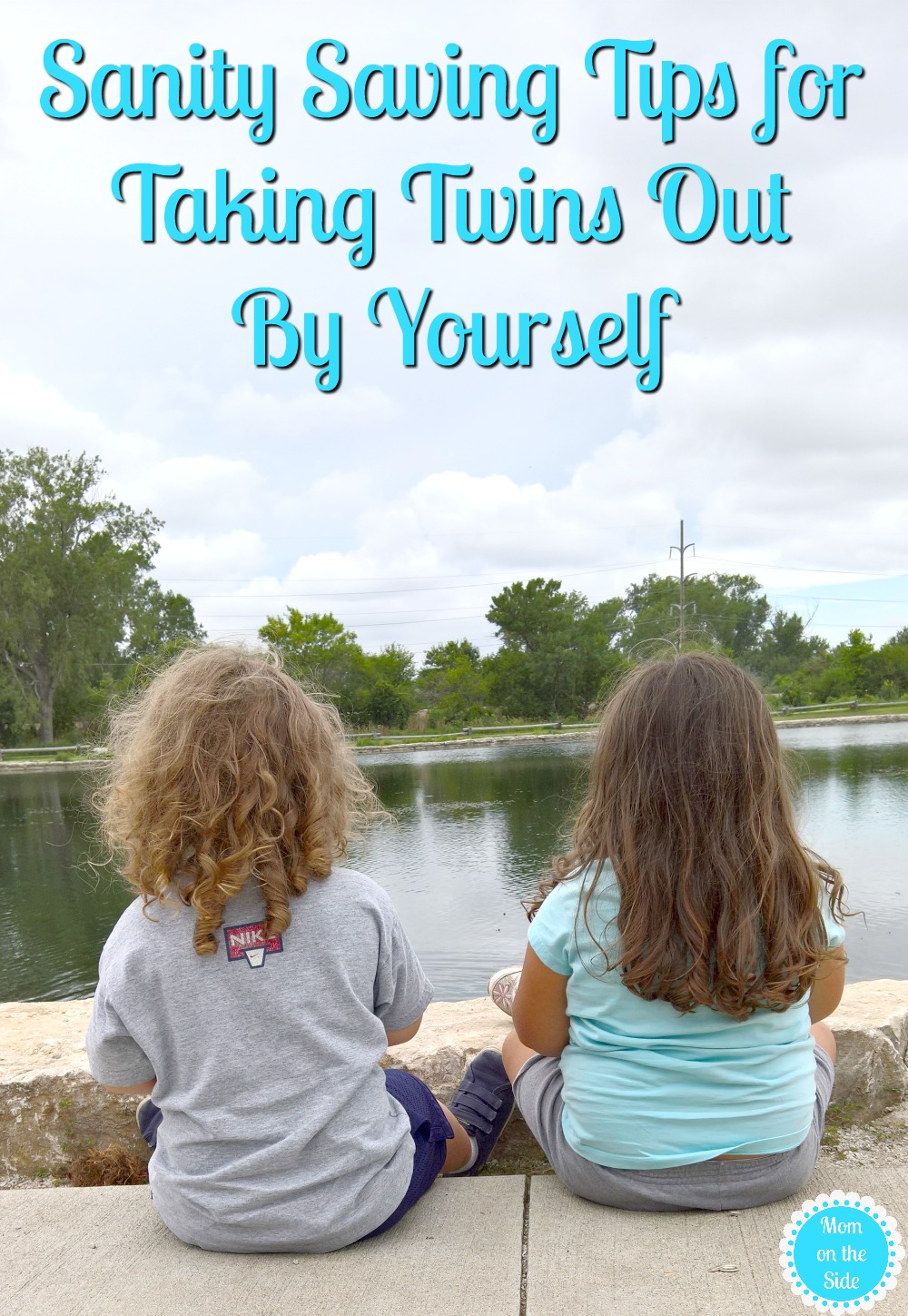 Taking twins out by yourself isn't impossible. I won't lie, it can be a bit overwhelming and stressful but these tips for taking twins out by yourself will help!