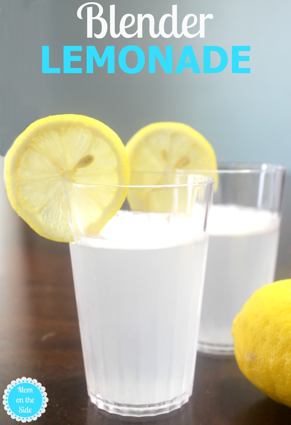 Surviving a Day with Twins and a Blender Lemonade Recipe