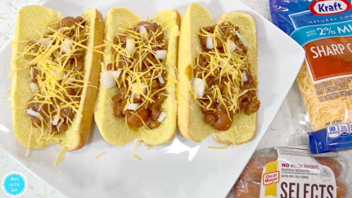 Slow Cooker Chili Dogs Recipe for Labor Day Weekend