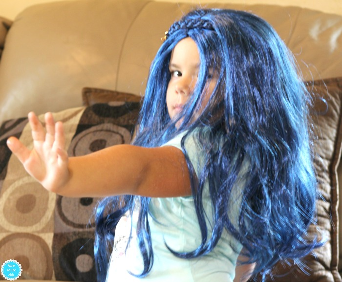 Evie Wig and Costume