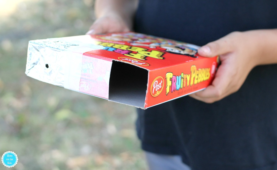 What you need to make a Cereal Box Eclipse Pinhole Projector
