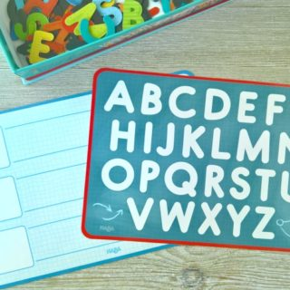 Learning Letters On The Go with Magnetic Game Box ABC Expedition