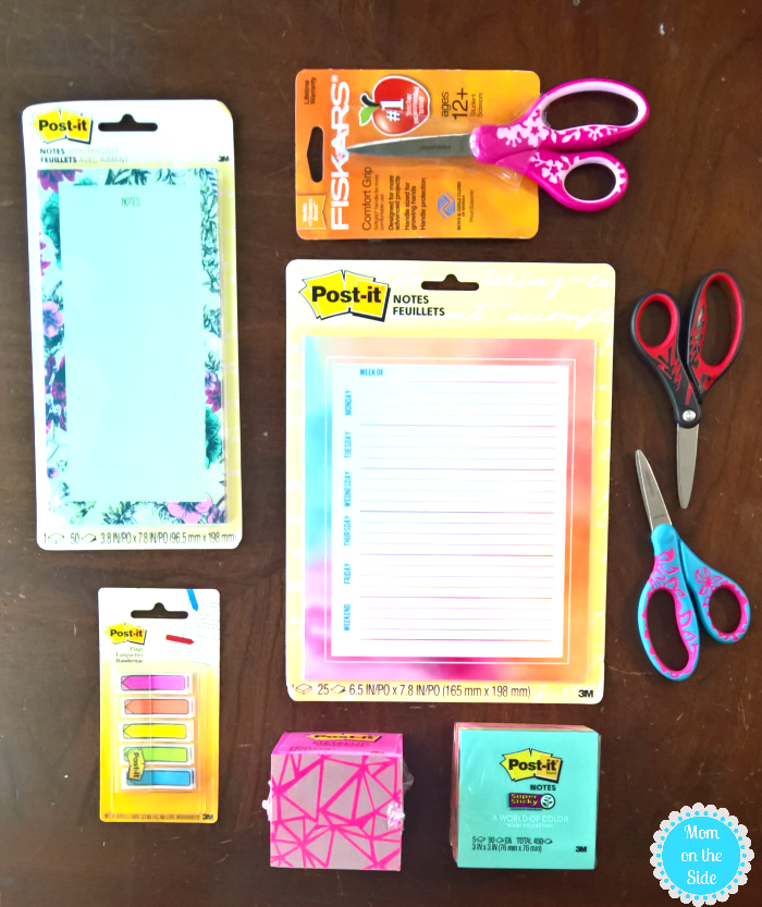 Post-It Products for Back to School 2017