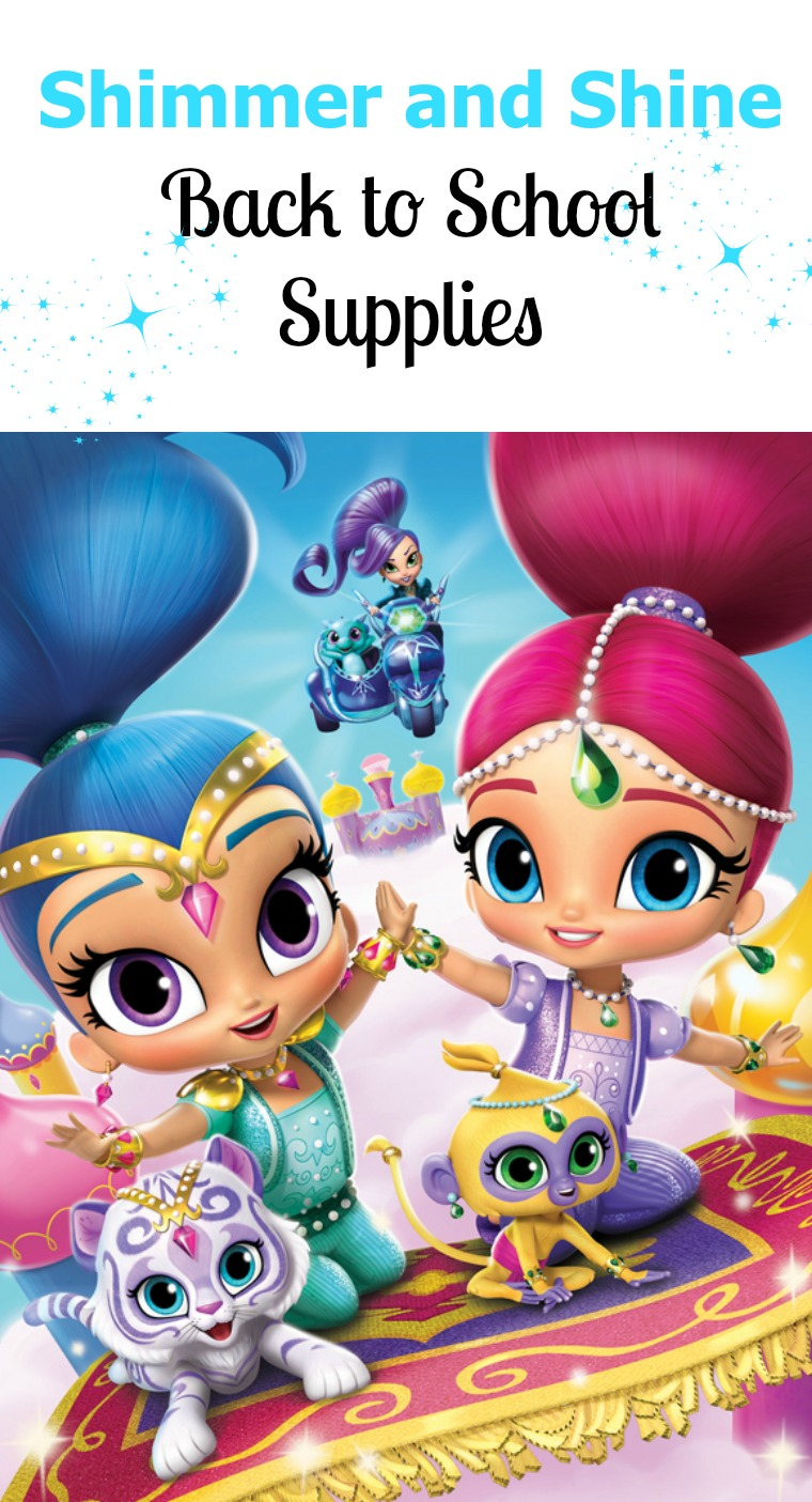 Shimmer and Shine Back to School Supplies and New Shimmer and Shine DVD