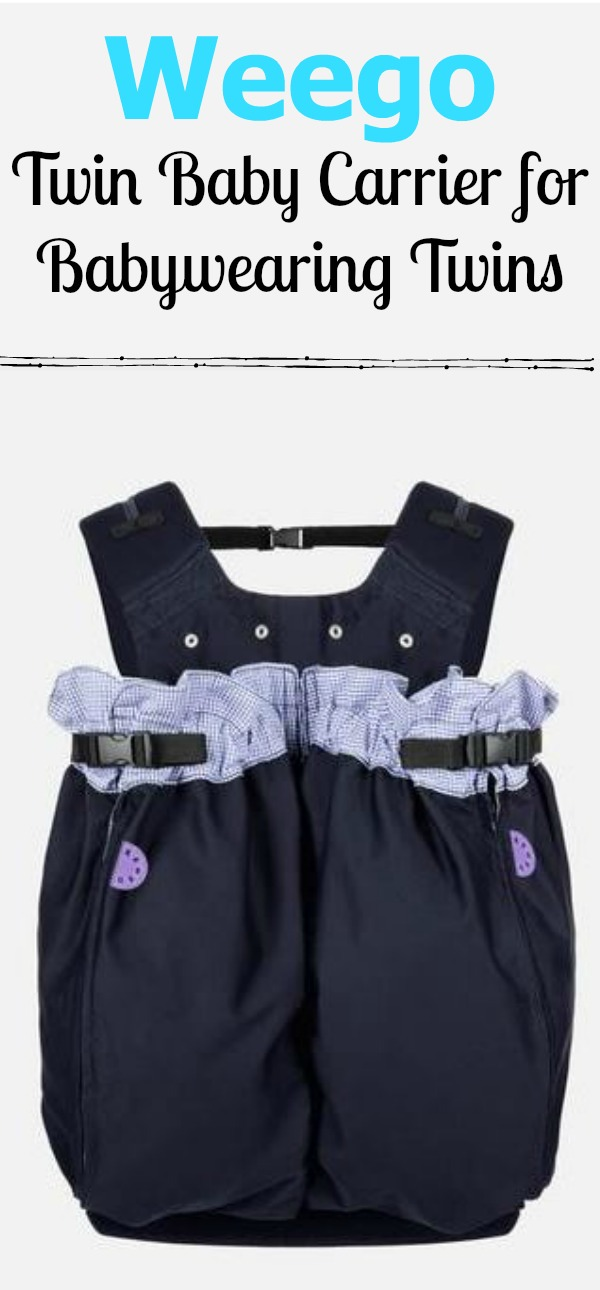 A life saver for twin moms,Weego Twin Baby Carrier is a convenient way of babywearing twins! Check out the features of this baby carrier