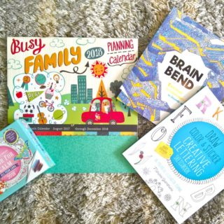 New 2018 Calendars and Coloring Books