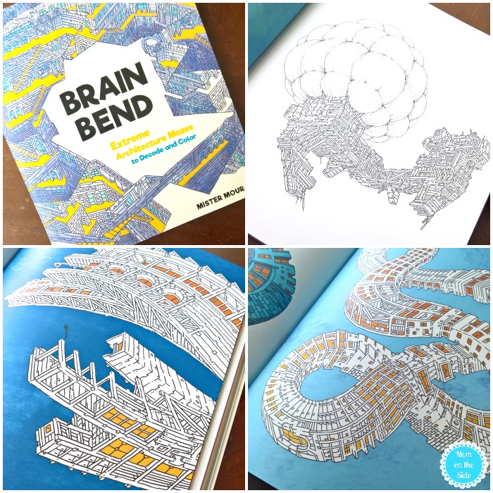 2018 Calendars and Coloring Book Brain Bend