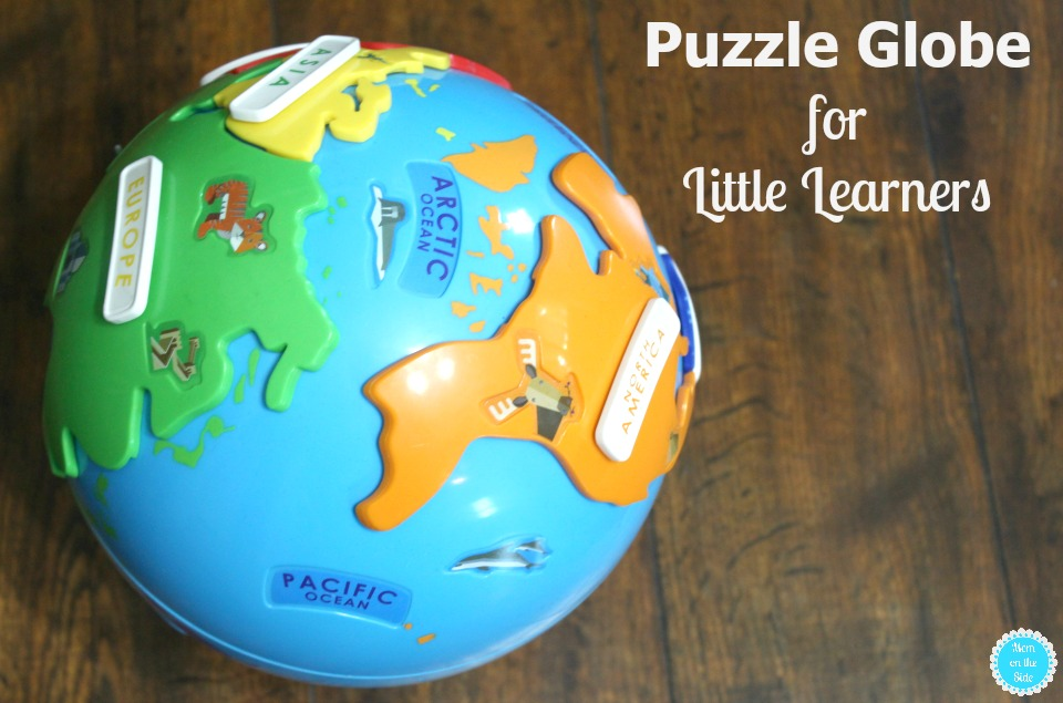 Fun Puzzle Globe for Little Kids
