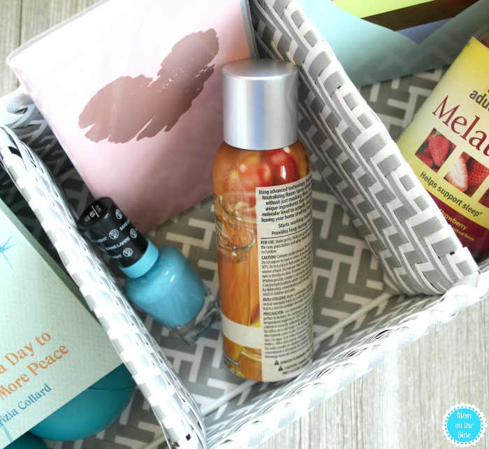 What is in my self-care kit for me time