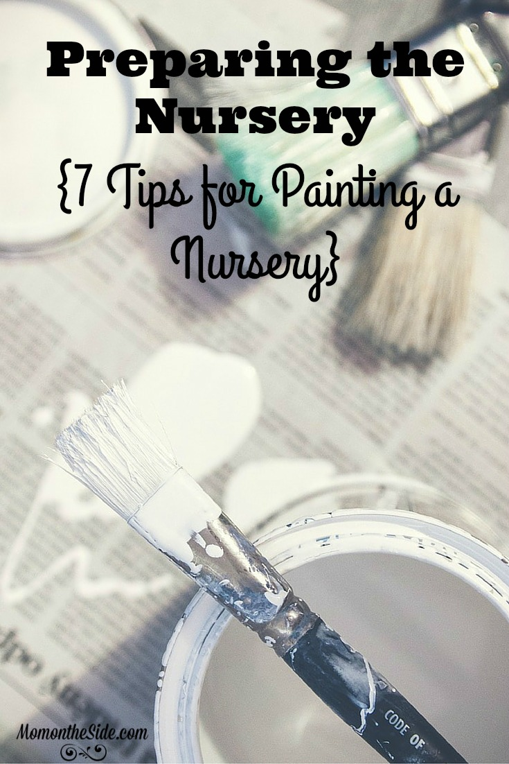 Planning a twins nursery? Here are Seven Tips of a Painting a Nursery Room to help you with preparing the nursery.