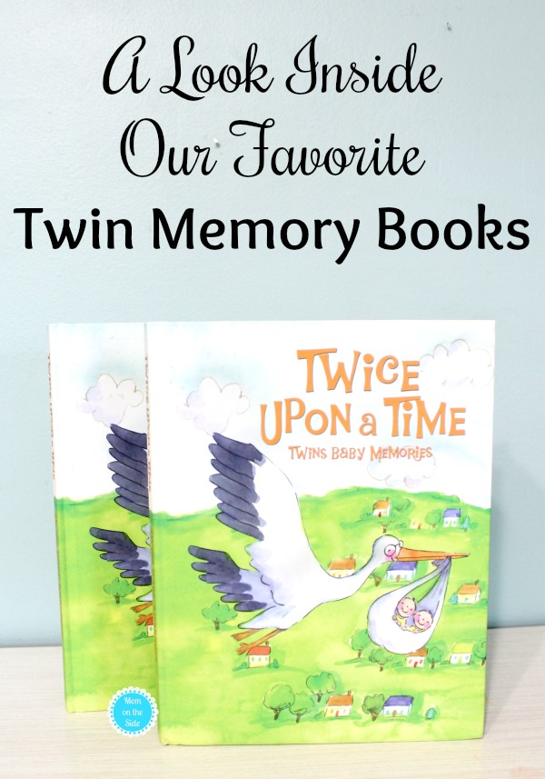 Twice Upon a Time - Our Favorite Twin Memory Books for Babies