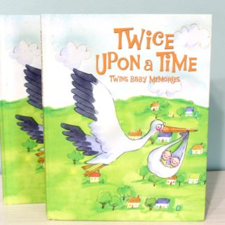 Twin Memory Book - Twice Upon a Time from Just Multiples