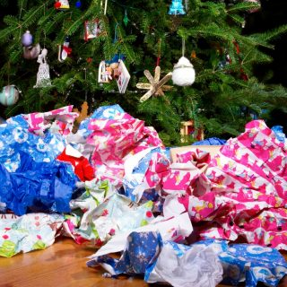 10 Uses for Left Over Wrapping Paper