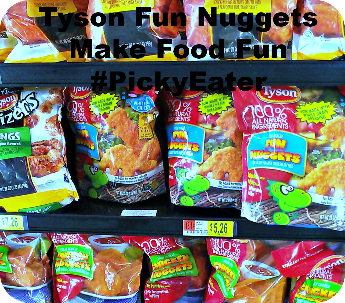 Tyson Fun Nuggets Make Food Fun