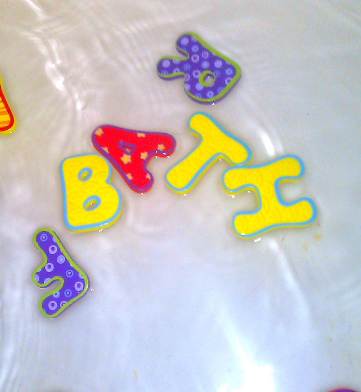 Foam Bath Letters And Numbers