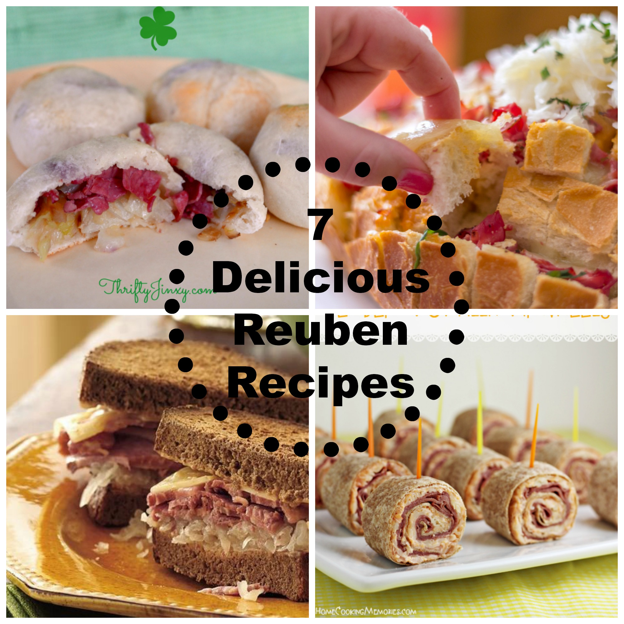 Six Delicious Reuben Sandwiches Recipes