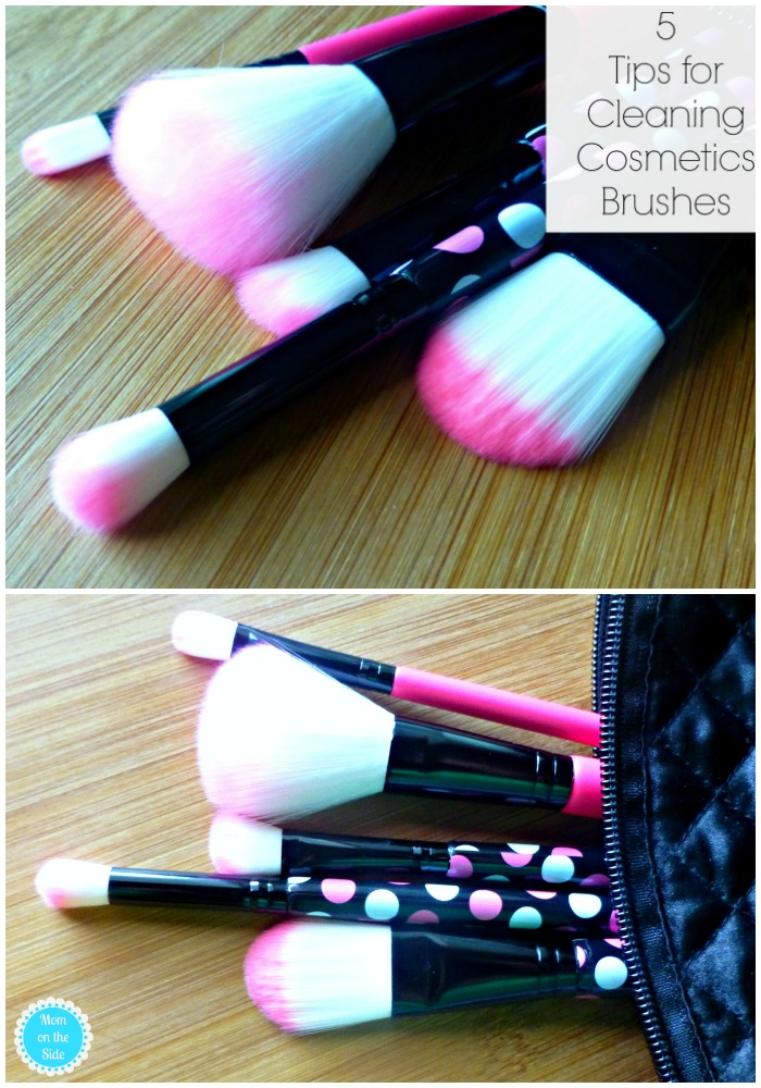 Helpful Tips for Cleaning Cosmetics Brushes