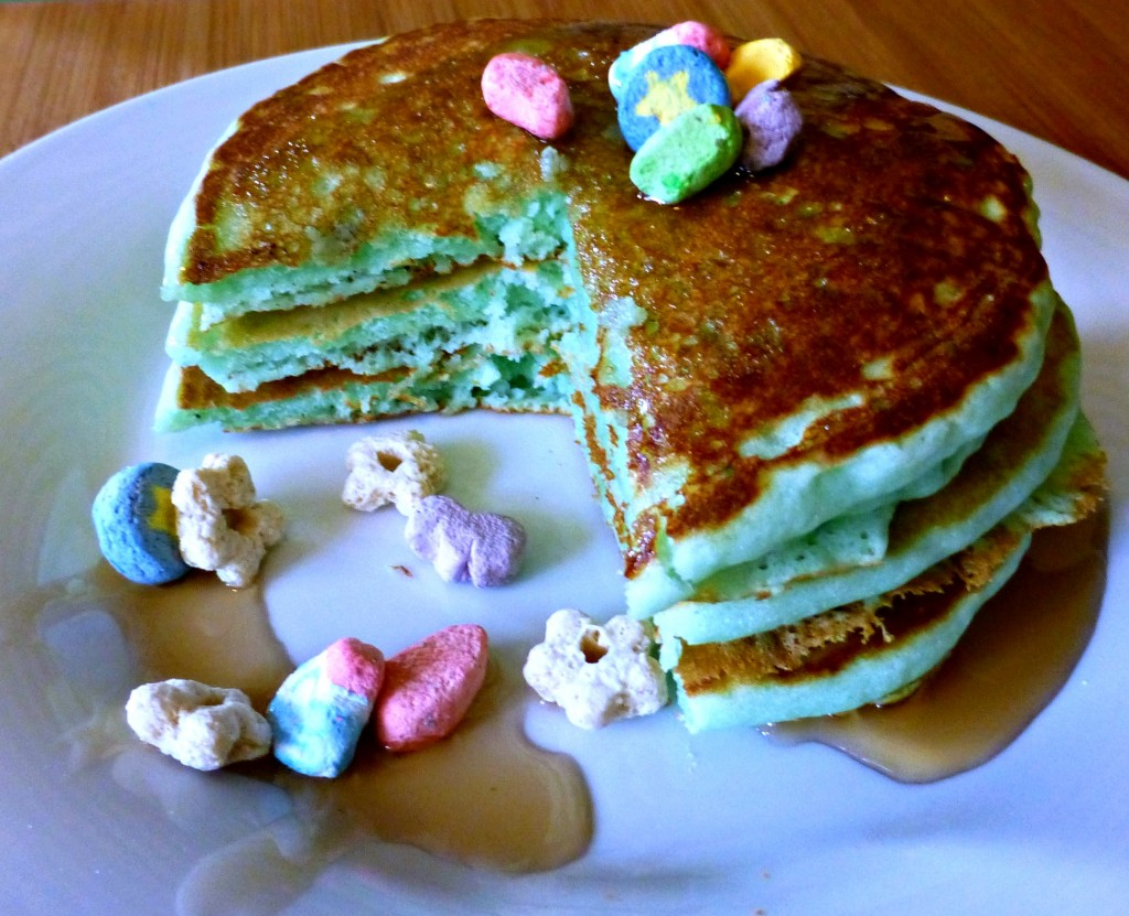 St. Patrick's Day Breakfast for Kids: St. Patrick's Day Pancakes