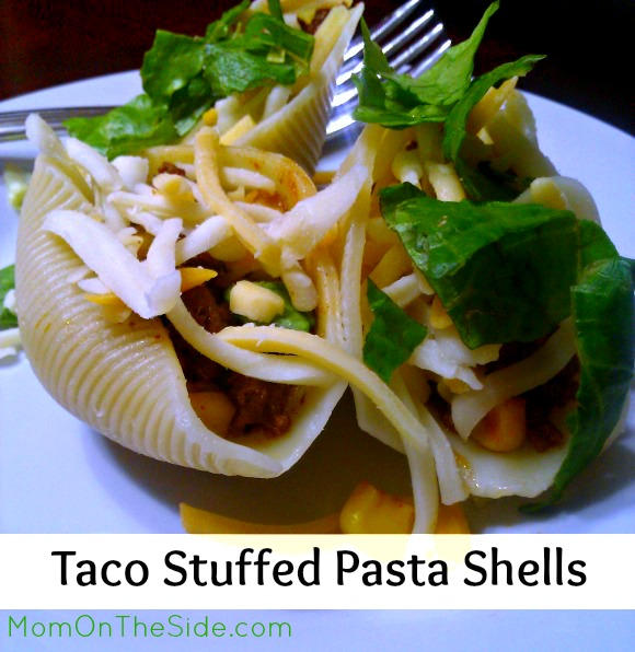 Taco Stuffed Pasta Shells are a fun Taco Tuesday twist, and they are a kid-approved dinner the whole family will love!