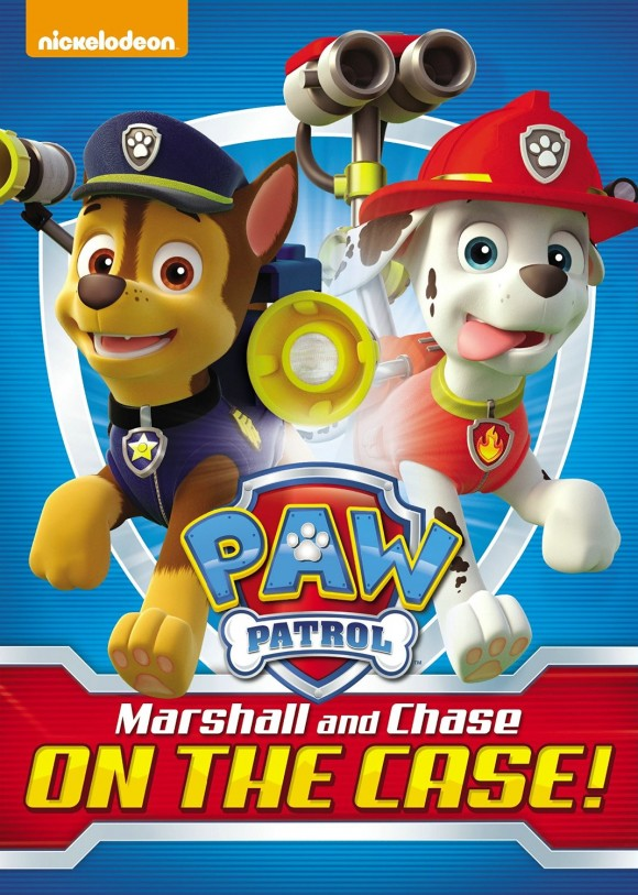 New Paw Patrol Dvd Marshall And Chase On The Case