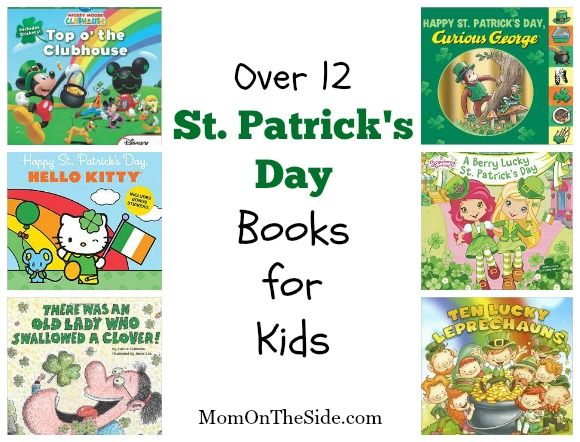 Over 12 St. Patrick's Day Books for Kids