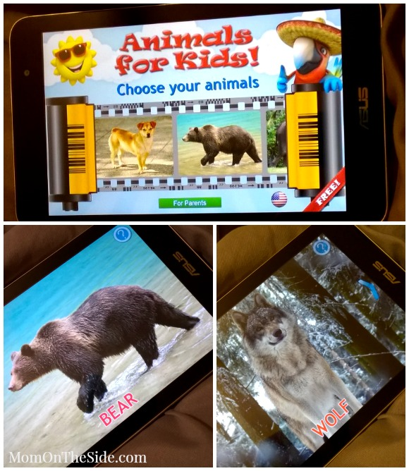 Three Free Animal Apps for Toddlers