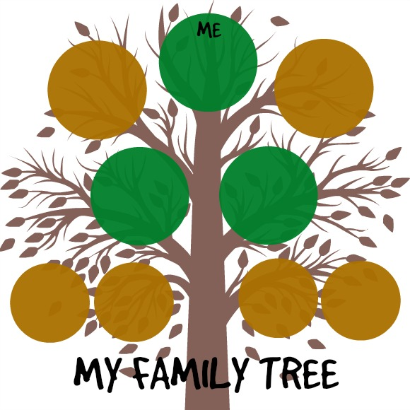 printable family tree for kids