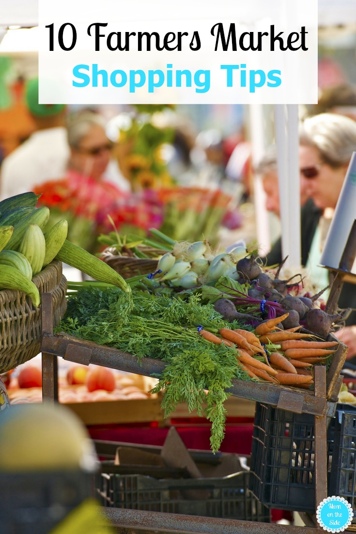 If you have a Farmers Market in your area, here are 10 Farmers Market Shopping Tips and tricks to help make your shopping trip even better.