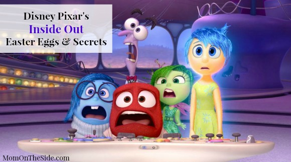 Pixar's Inside Out Easter Eggs and Secrets