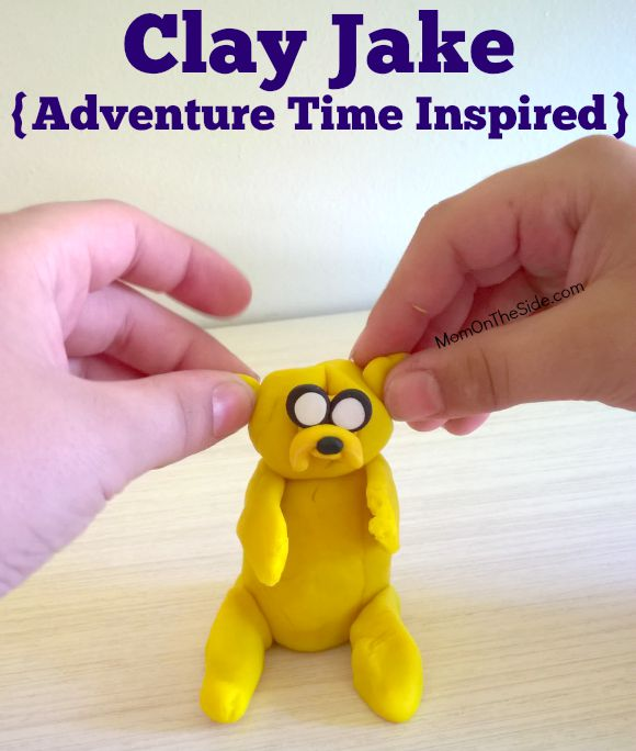 Clay Jake Adventure Time Inspired