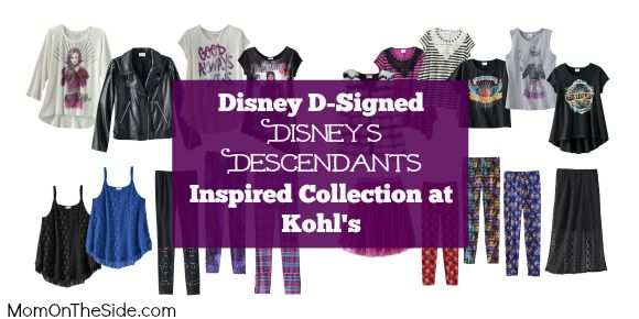 D-Signed Disney's Descedants Inspired Collection at Kohl's