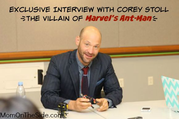 Exclusive Interview with Corey Stoll The Villain of Marvels Ant-man