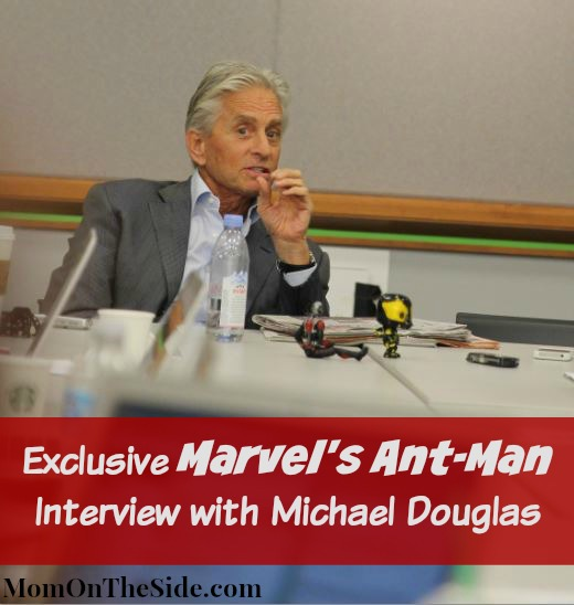 Exclusive Interview with Michael Douglas of Marvel's Ant-Man