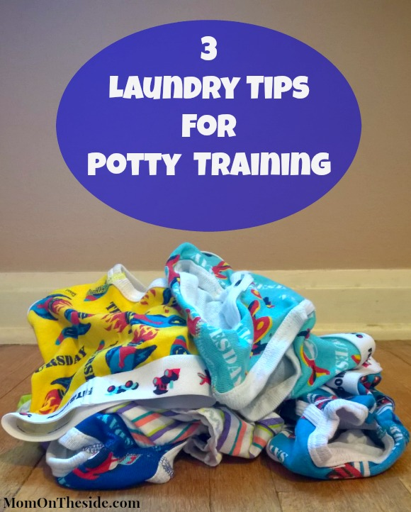 3 Laundry Tips for Potty Training
