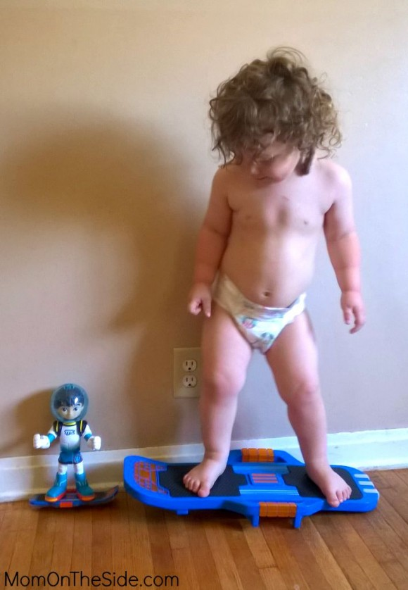 Go Galactic with Miles from Tomorrowland Toys