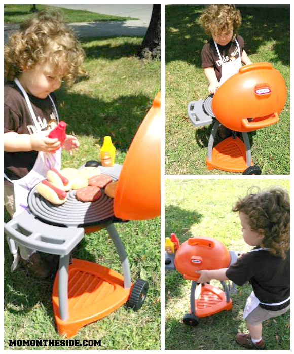 Little Tikes Outdoor Grill Sizzle N Serve